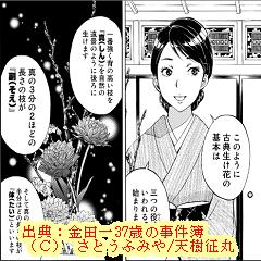 金田一37歳ネタバレ・推理:双子姉妹の闇!?京都美人華道家2話